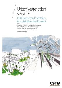 Urban vegetation services