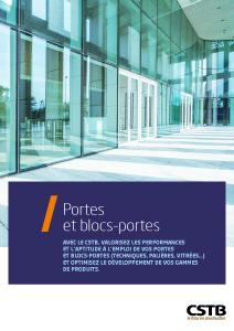 Portes et blocs-portes
