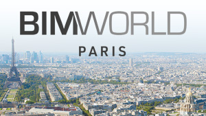 Salon BIM World, Paris Expo Porte de Versailles