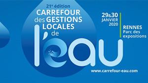 Carrefour des Gestions Locales de l'Eau, Parc des Expositions, Rennes