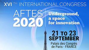 The AFTES International Congress - Palais des Congrès, Paris