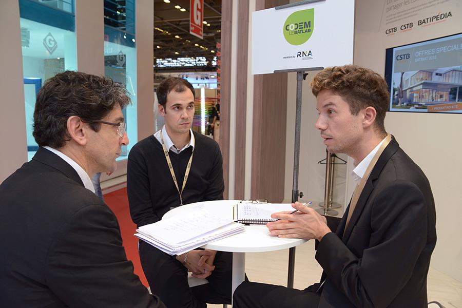 Speed meeting : échanges avec les TPE/PME innovantes 06