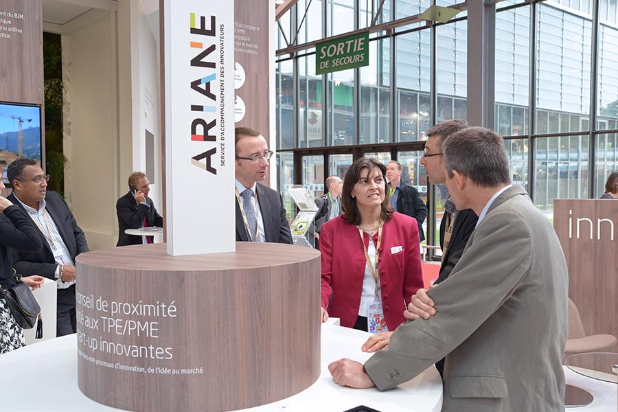 Speed meeting : échanges avec les TPE/PME innovantes 13