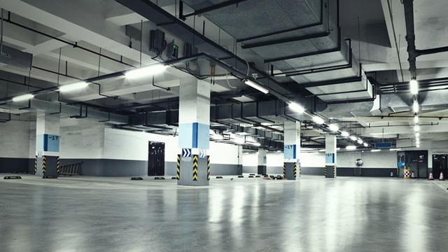 Plancher Parking Immeuble de bureaux